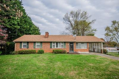 Lynchburg Single Family Home For Sale: 7118 Suncrest Drive
