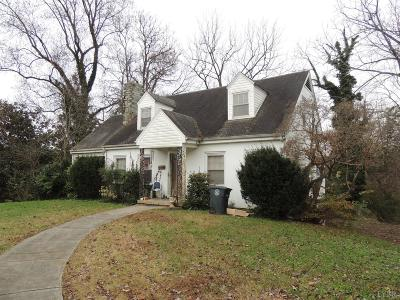 Lynchburg Single Family Home For Sale: 1501 Gates Street