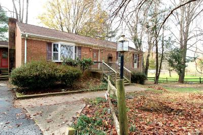 Lynchburg Single Family Home For Sale: 1210 Haukins Mill Road