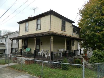 Lynchburg VA Single Family Home For Sale: $49,900