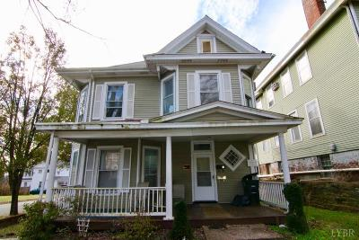 Lynchburg Multi Family Home For Sale: 1103 Rivermont Avenue