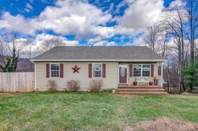 Bedford County Single Family Home For Sale: 1021 Fosters Knob Road