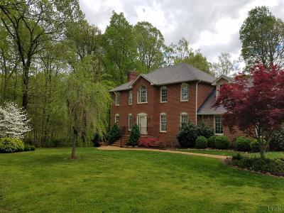 Campbell County Single Family Home For Sale: 1660 Austin Mill Road