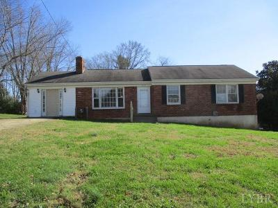 Lynchburg Single Family Home For Sale: 1136 Glenfield Drive