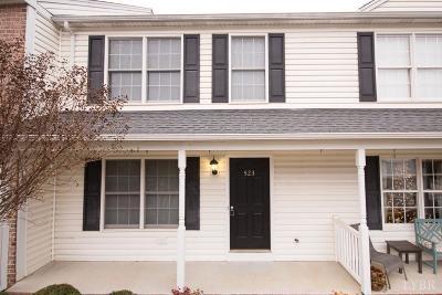 Lynchburg VA Condo/Townhouse For Sale: $164,900