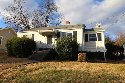 Lynchburg Single Family Home For Sale: 418 Warren Avenue