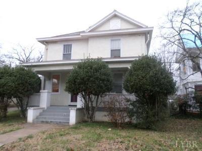 Lynchburg Single Family Home For Sale: 133 Easton Avenue