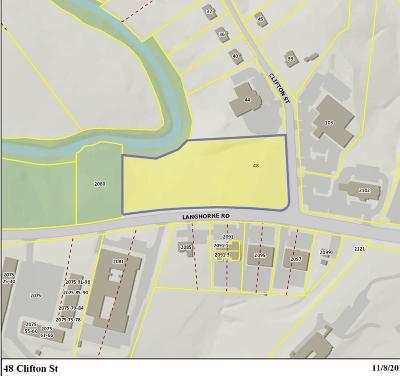 Lynchburg County Residential Lots & Land For Sale: 48 Clifton Street