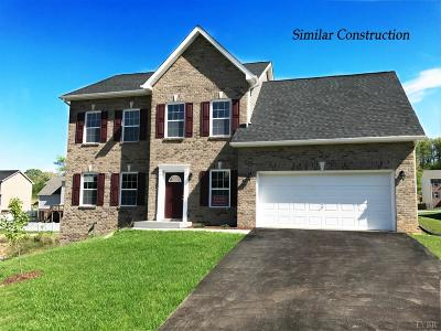 Rustburg Single Family Home For Sale: 48 Carriage Parkway