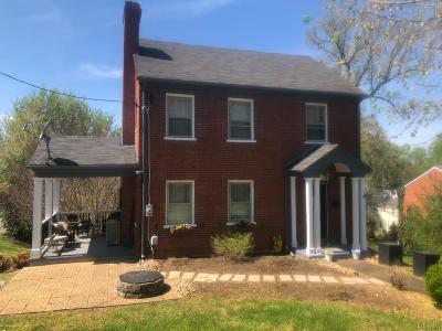 Lynchburg Single Family Home For Sale: 4607 Hilltop Drive