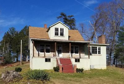 Bedford County Single Family Home For Sale: 1872 Peters Creek Road