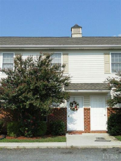 Madison Heights VA Condo/Townhouse For Sale: $112,000