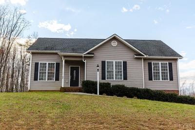 Rustburg Single Family Home For Sale: 22 Semmes Court