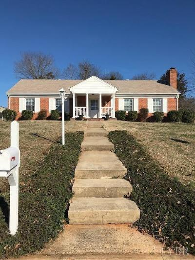 Lynchburg County Single Family Home For Sale: 2600 Westhaven Place