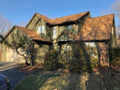 Evington, Rustburg, Lynchburg Single Family Home For Sale: 90 Mt Vista Drive