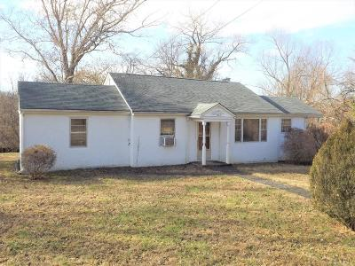 Lynchburg VA Single Family Home For Sale: $115,000
