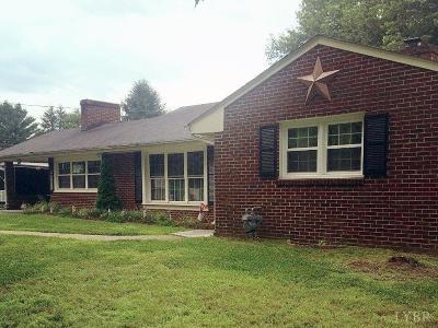 Lynchburg VA Single Family Home For Sale: $185,000