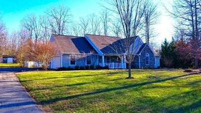 Bedford County Single Family Home For Sale: 1650 Trading Post Road