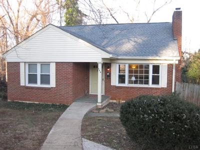 Lynchburg County Single Family Home For Sale: 608 Midvale Street