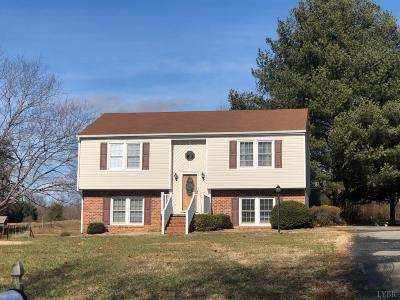 Forest VA Single Family Home For Sale: $172,500