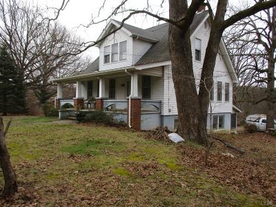 Campbell County Single Family Home For Sale: 394 Riverbend Road