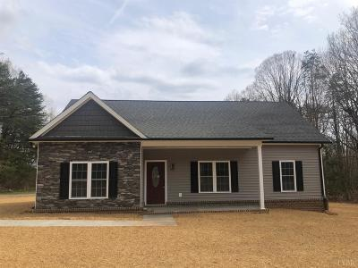 Rustburg Single Family Home For Sale: 2810 Browns Mill Rd