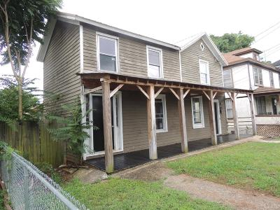 Lynchburg County Single Family Home For Sale: 1505 Bedford Avenue