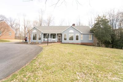 Lynchburg County Single Family Home For Sale: 2724 Hurdle Hill