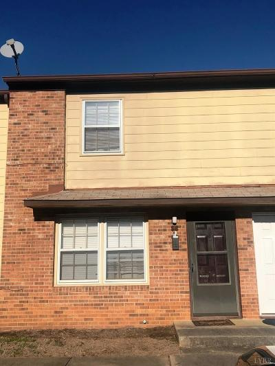 Lynchburg County Condo/Townhouse For Sale: 3501 Fort Avenue #6