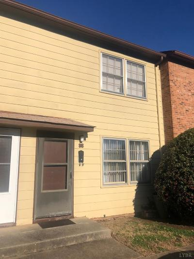 Lynchburg County Condo/Townhouse For Sale: 3501 Fort Avenue #3