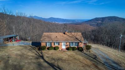 Bedford County Single Family Home For Sale: 1891 Fosters Knob Road