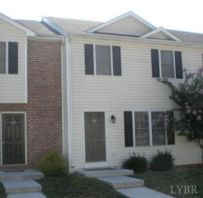 Lynchburg Condo/Townhouse For Sale: 3600 Old Forest Road #114