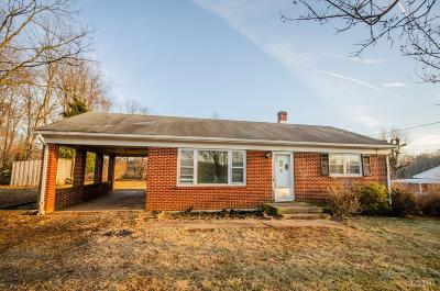 Single Family Home For Sale: 215 Thomas Road