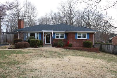 Lynchburg County Single Family Home For Sale: 2175 Woodcrest Drive