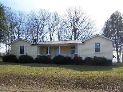 Rustburg Single Family Home For Sale: 6469 Bethany Road