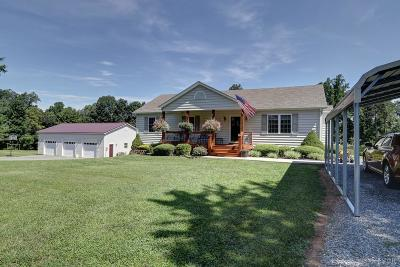 Hurt VA Single Family Home For Sale: $224,900