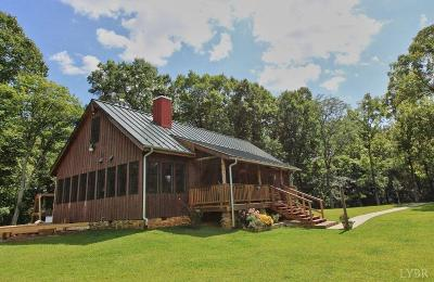 Amherst Single Family Home For Sale: 274 Thrashers Creek Road