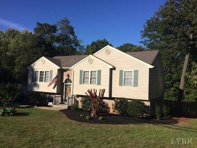 Lynchburg VA Single Family Home For Sale: $205,800