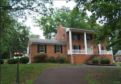 Lynchburg County Single Family Home For Sale: 3820 Manton Lane