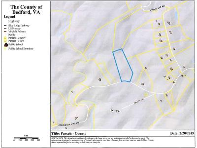 Bedford VA Residential Lots & Land For Sale: $89,900