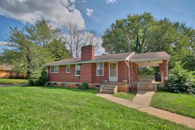 Lynchburg Single Family Home For Sale: 3621 Old Forest Road