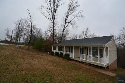 Bedford County Single Family Home For Sale: 5541 Cottontown Road