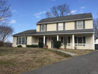 Lynchburg County Single Family Home For Sale: 100 New Towne Road