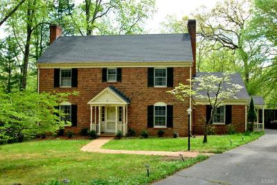 Lynchburg Single Family Home For Sale: 1220 Bell Tavern Road