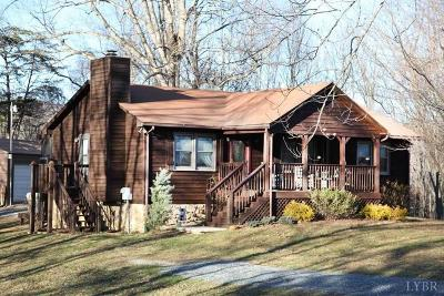 Bedford County Single Family Home For Sale: 2651 Quarles Rd