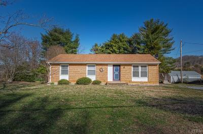Bedford Single Family Home For Sale: 2373 Dickerson Mill Road