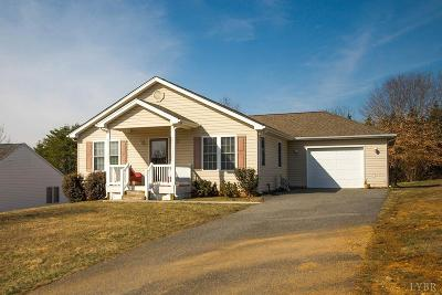 Lynchburg Single Family Home For Sale: 56 Russell Springs Drive