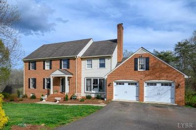 Lynchburg County Single Family Home For Sale: 1803 Royal Oak Drive