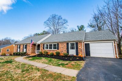 Lynchburg County Single Family Home For Sale: 203 Chesterfield Road
