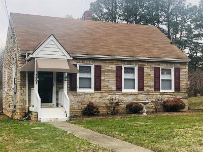 Lynchburg County Single Family Home For Sale: 1003 Lindsay Street